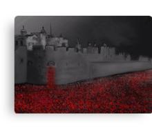 Tower of London Poppy Rememberance  Canvas Print