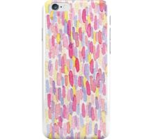 Multi-colored water color pattern iPhone Case/Skin
