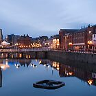Princess Quay at Night by Martyn Coupland