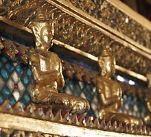 detail of royal barge by hellsbell