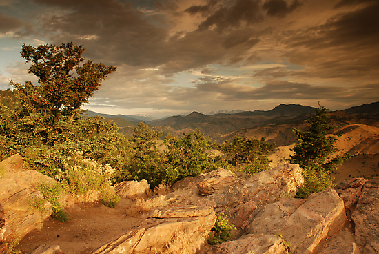 Lookout Mountain, Colorado by Paul Crossland