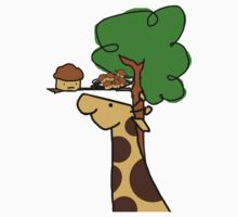 Muffin Giraffe by James Gonzalez