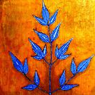 """Mornington Skies 2 - Monoprint by Belinda """"BillyLee"""" NYE (Printmaker)"""