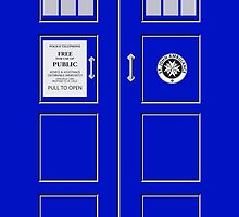 I am the Police Box by RocketmanTees