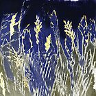 "Mornington Skies 9 - Monoprint by Belinda ""BillyLee"" NYE (Printmaker)"