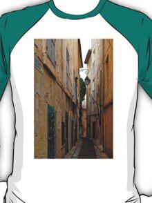 A Narrow Street in Aix-en- Provence, France T-Shirt