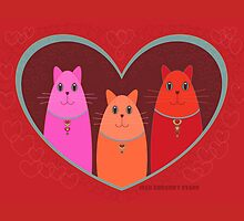 Three Wishes For Valentine's Day by Jean Gregory  Evans