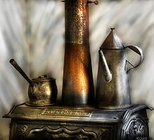 The Stove and Kettle by Mike  Savad