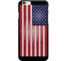 Stained Glass United States USA Flag iPhone Case/Skin