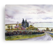 Enthorpe Old Station Canvas Print
