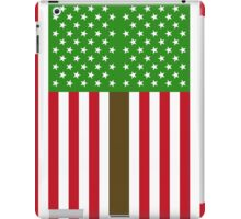 Green US Flag iPad Case/Skin