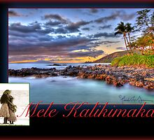 Christmas in Hawai'i - Mele Kalikimaka Card by Randy Jay Braun