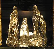 CHRISTMAS NATIVITY SCENE by gothgirl