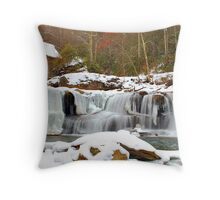 Frozen Grist Mill #2 Throw Pillow