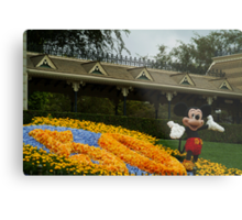 Mickey's Celebration Metal Print