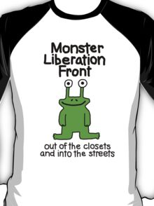 Monster Liberation Front -- Out of the Closets T-Shirt