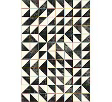 Triangles and Squares VII Photographic Print
