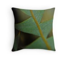 Reptile Plant Throw Pillow