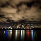 Sydney After Dark - 4am Sydney Skyline by Daniel Pua