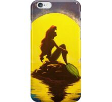 The Little Mermaid and The Moon - Disney iPhone Case/Skin