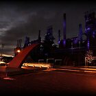 Industrial Sunset by Tim Holmes