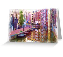 Canal Street Greeting Card