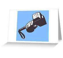Thor hammer Greeting Card