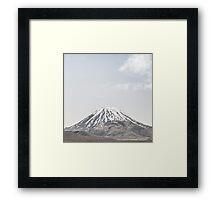 NEW ZEALAND:LONE MOUNTAIN Framed Print