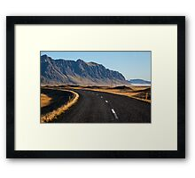ICELAND:THE RING ROAD Framed Print
