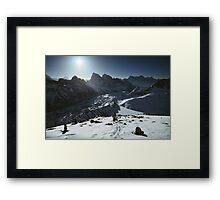 NEPAL:TRAVELLER'S BLISS Framed Print