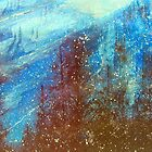 Snowmass   Blue On Blue      ( My Paintings ) by Rick  Todaro