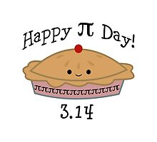 Adorable Happy Pi Day  3.14 Design by Eggtooth