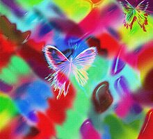 """"""" Butterfly, this folded love letter looks for an address of flower. """" by camilleshiva"""