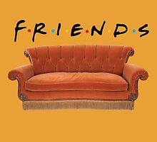 Friends couch by exactablerita