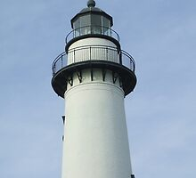 Lighthouse at St. Simons Island Georgia by Jennifer Jones