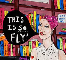 This is SO Fly! Lady at the Library by 1georgiewatts