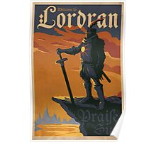 Welcome to Lordran Movie Poster Poster