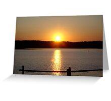Martha's Vineyard Sunset Greeting Card