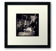 OLD SHANGHAI - Going Home Framed Print