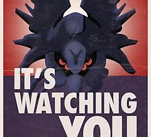 Destiny Propaganda Poster - It's Watching You by TWCFTM
