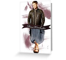 Dean Winchester Then & Now Greeting Card