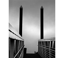 Walk Into The Light Photographic Print