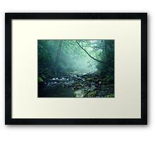 Between Worlds Framed Print