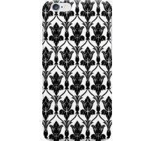 221b Baker St Wallpaper (1 of 2) iPhone Case/Skin