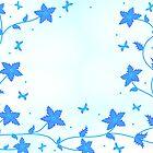 Blue flowers   by mari8008