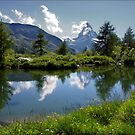Matterhorn Reflections by AnnieSnel
