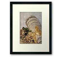 Beethoven's Gift . . . Framed Print