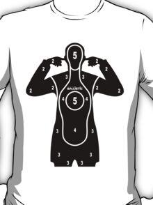 762Ballistic Target - Here comes the bang T-Shirt