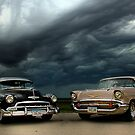 '54 Chevy Deluxe & '57 Bel Air Custom by block33