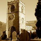 Burnsall Church, Yorkshire Dales by newbeltane